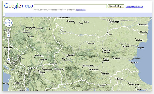 Google Maps module - Publicity.bg