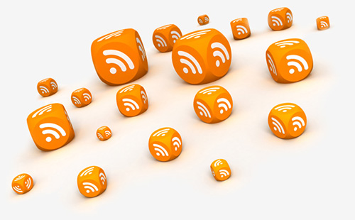 Design and graphic models of RSS feeds